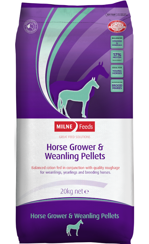 Horse Grower & Weanling Pellets
