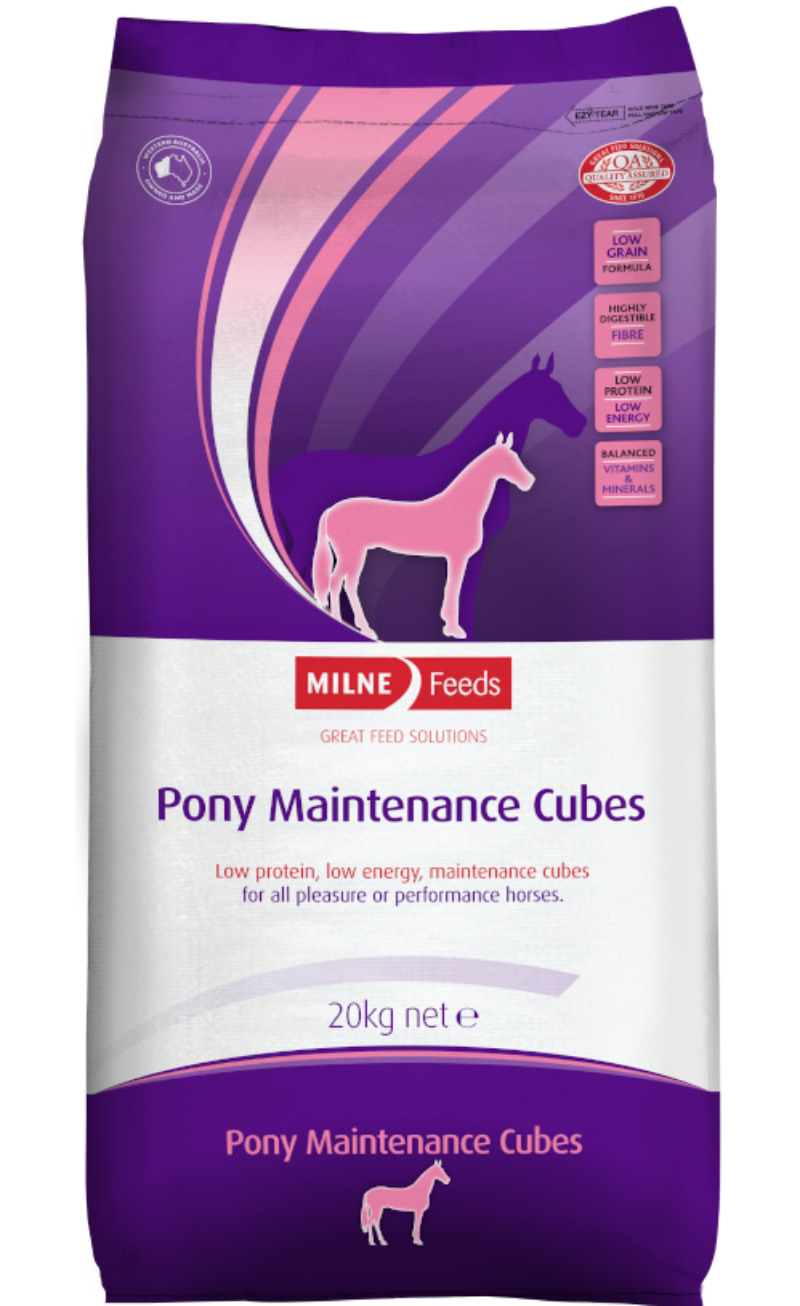 Pony Maintenance Cubes