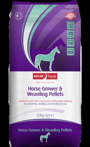 Horse Grower & Weanling Pellets